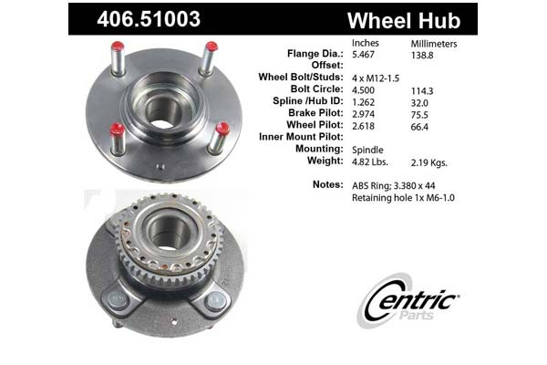 centric-CE 40651003 Fro
