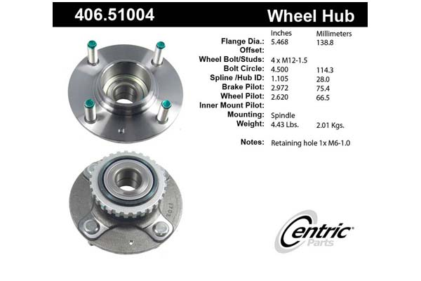centric-CE 40651004 Fro