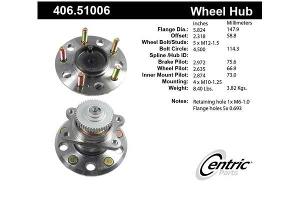 centric-CE 40651006E Fro