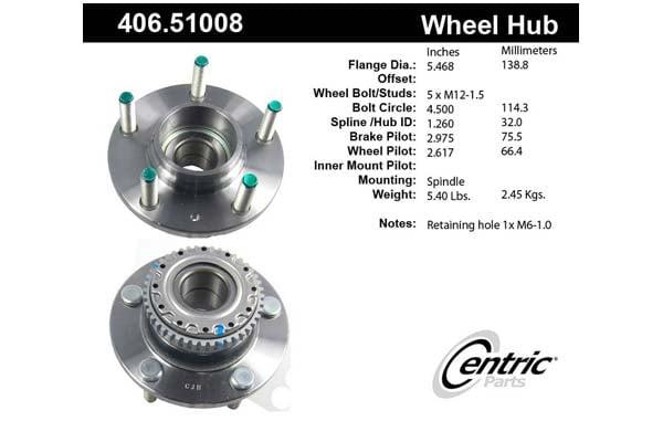 centric-CE 40651008E Fro