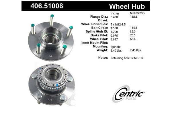 centric-CE 40651008 Fro