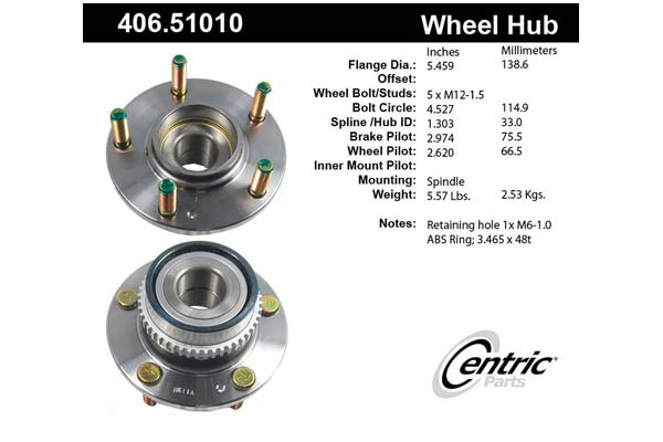 centric-CE 40651010E Fro