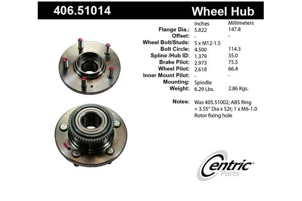 centric-CE 40651014 Fro
