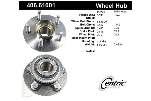 centric-CE 40661001 Fro