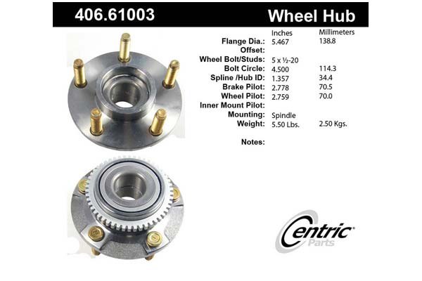centric-CE 40661003 Fro