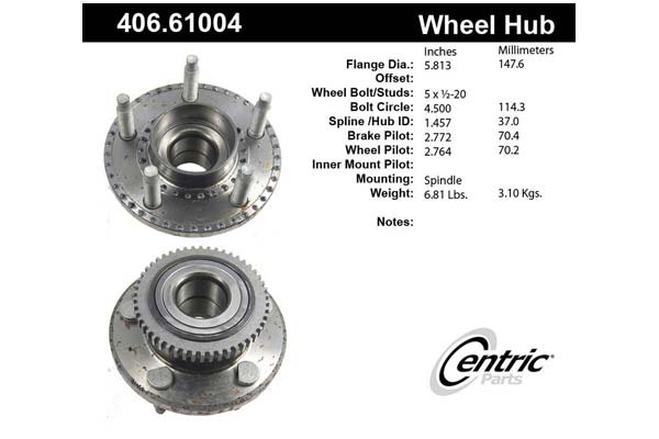 centric-CE 40661004 Fro