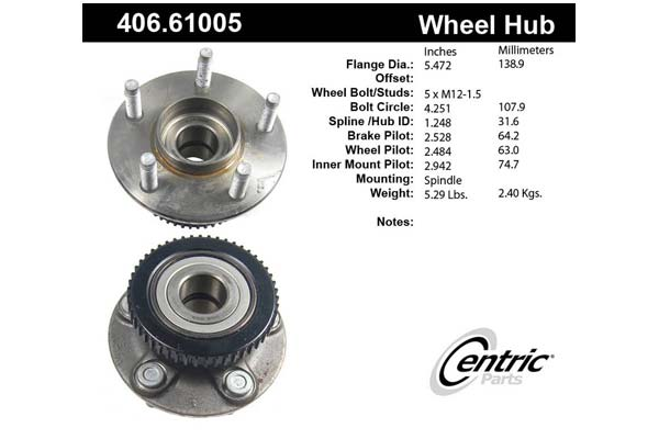 centric-CE 40661005 Fro