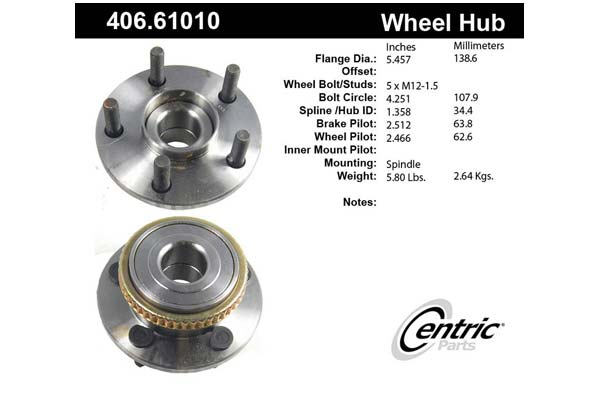 centric-CE 40661010 Fro