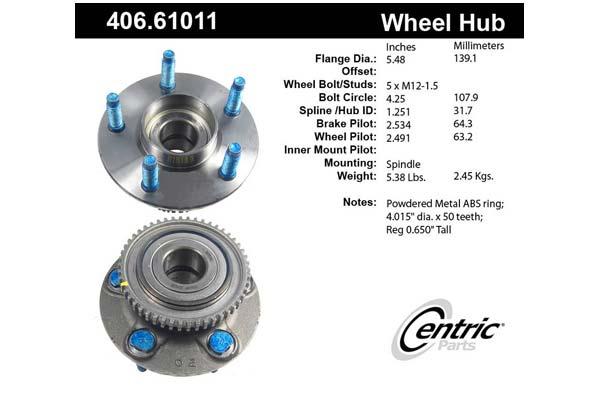 centric-CE 40661011E Fro