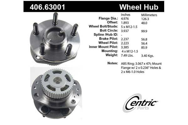 centric-CE 40663001E Fro