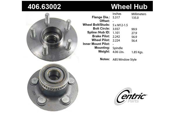centric-CE 40663002 Fro