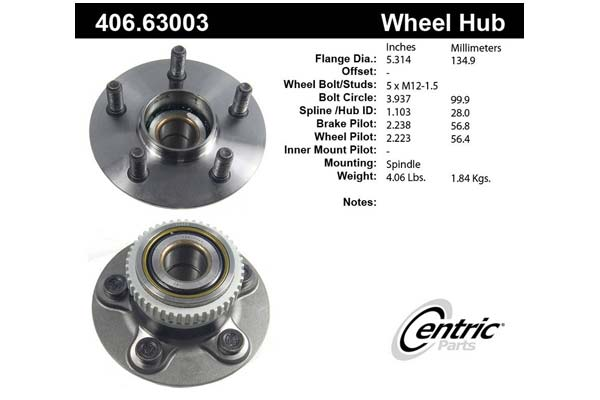 centric-CE 40663003 Fro