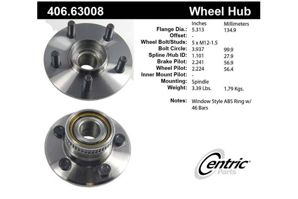 centric-CE 40663008 Fro