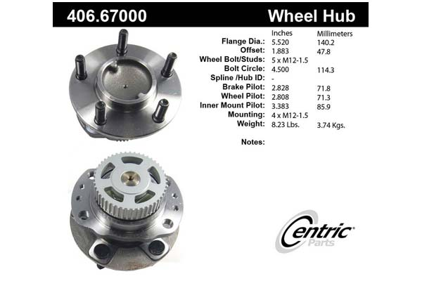 centric-CE 40667000 Fro