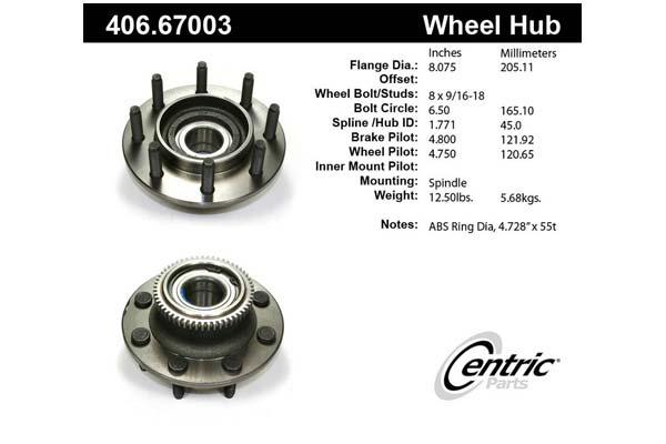 centric-CE 40667003E Fro