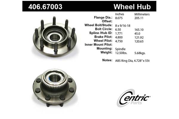 centric-CE 40667003 Fro