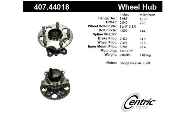 centric-CE 40744018E Fro
