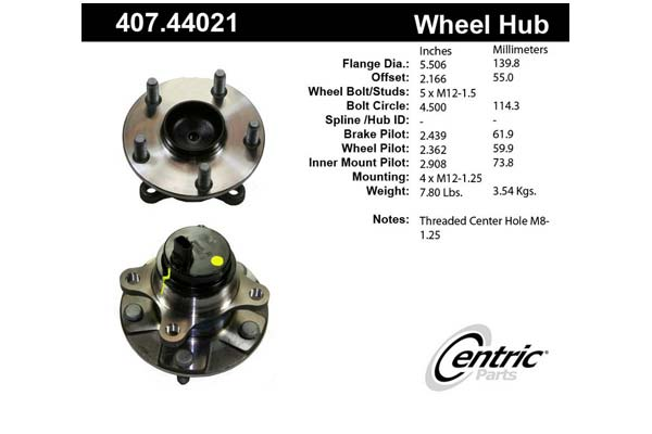 centric-CE 40744021 Fro