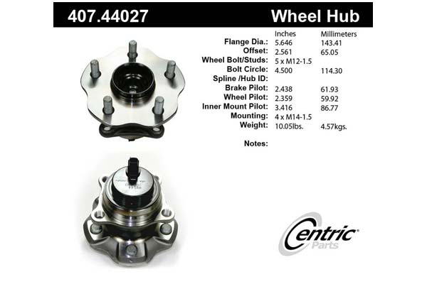 centric-CE 40744027 Fro
