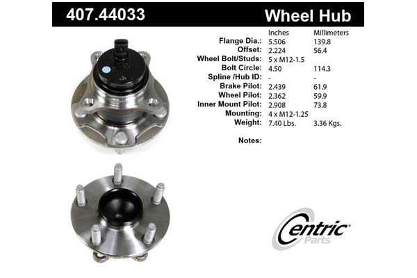 centric-CE 40744033 Fro