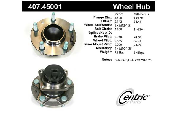 centric-CE 40745001 Fro