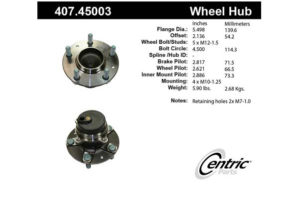 centric-CE 40745003 Fro