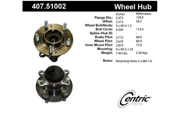 centric-CE 40751002 Fro