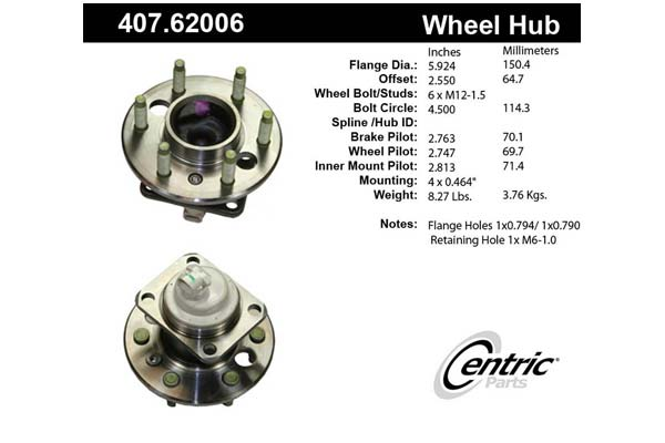 centric-CE 40762006 Fro