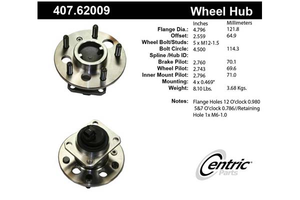 centric-CE 40762009 Fro