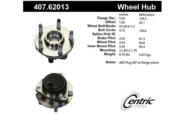 centric-CE 40762013 Fro