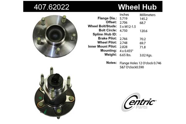 centric-CE 40762022E Fro