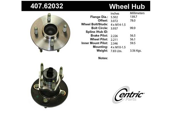 centric-CE 40762032 Fro