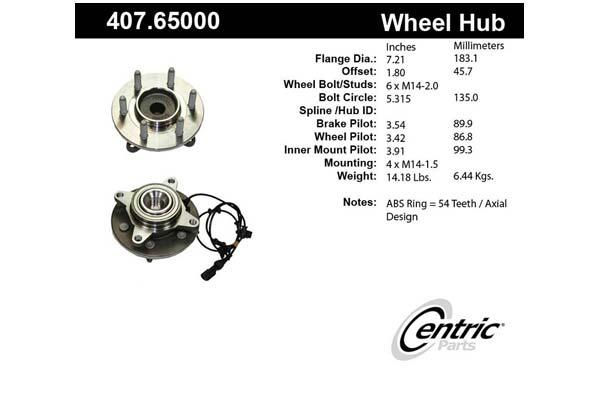 centric-CE 40765000E Fro