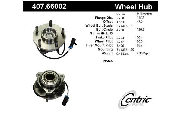 centric-CE 40766002E Fro
