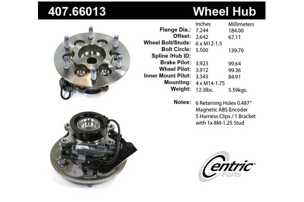 centric-CE 40766013 Fro