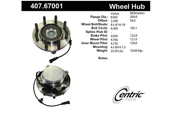 centric-CE 40767001 Fro
