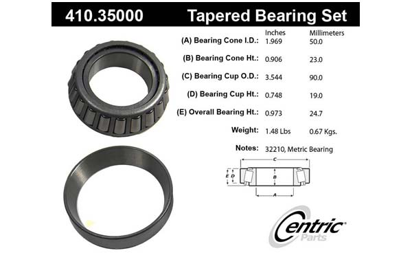 centric-CE 41035000 Fro
