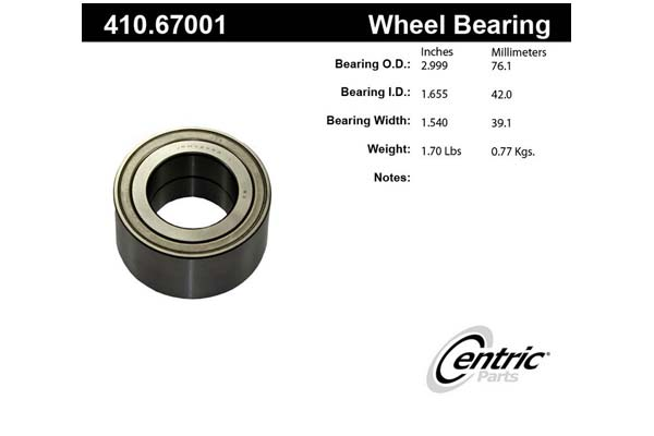 centric-CE 41067001 Fro