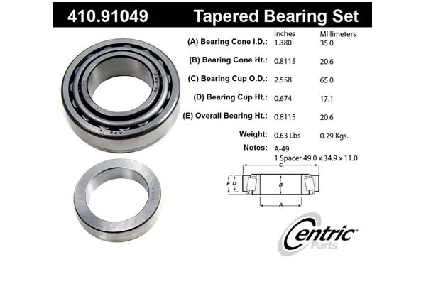 centric-CE 41091049 Fro