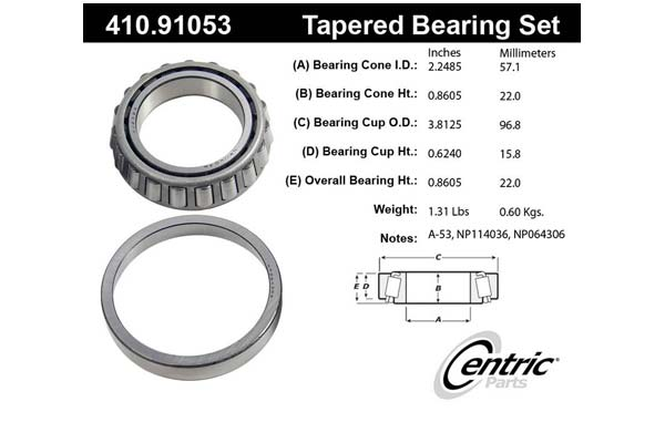 centric-CE 41091053 Fro