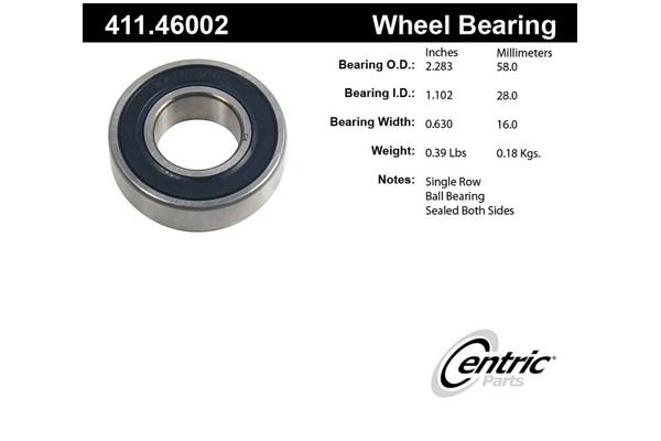centric-CE 41146002 Fro