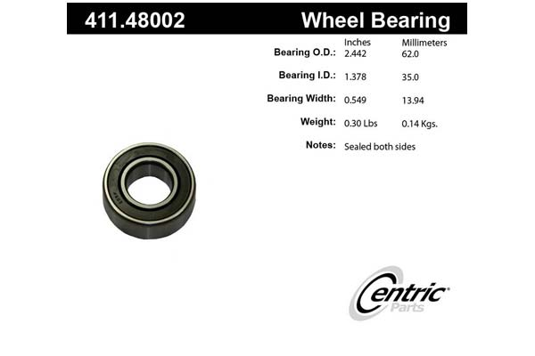 centric-CE 41148002 Fro