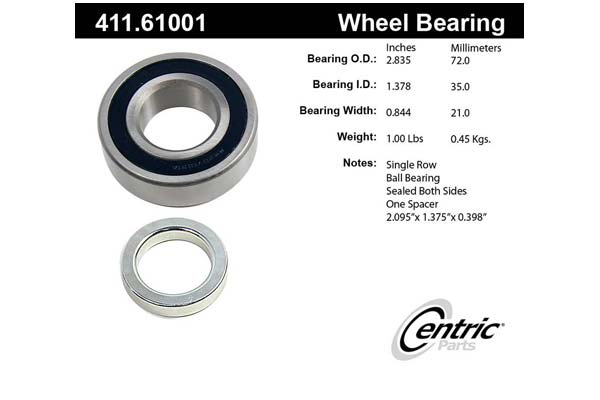 centric-CE 41161001 Fro