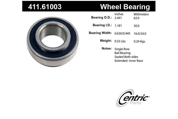 centric-CE 41161003 Fro