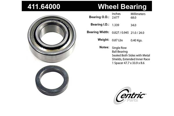 centric-CE 41164000 Fro