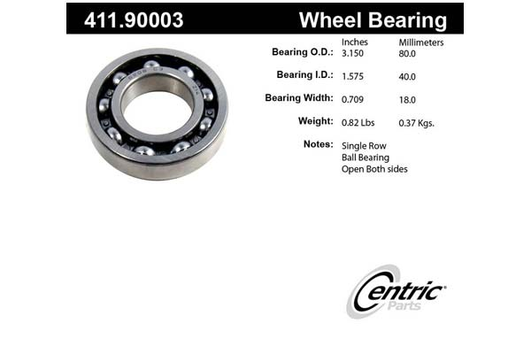 centric-CE 41190003 Fro