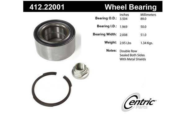 centric-CE 41222001 Fro