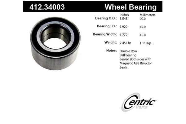 centric-CE 41234003 Fro