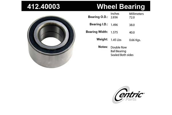 centric-CE 41240003 Fro