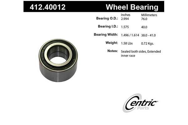 centric-CE 41240012 Fro
